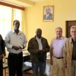 Chez le Gouverneur de la Province de Mwaro