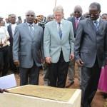 Plaque de l'inauguration de l'Ecole de Gasenyi