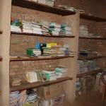 Livres de Chambéry dans la bibliothèque du lycée