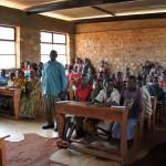 Une classe à Bisoro