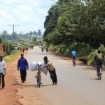 Sur la route de Gitega...