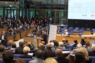 Les congressistes ont été reçus dans l'ex Bundestag par le Président de la RFA, Joachim Gauck