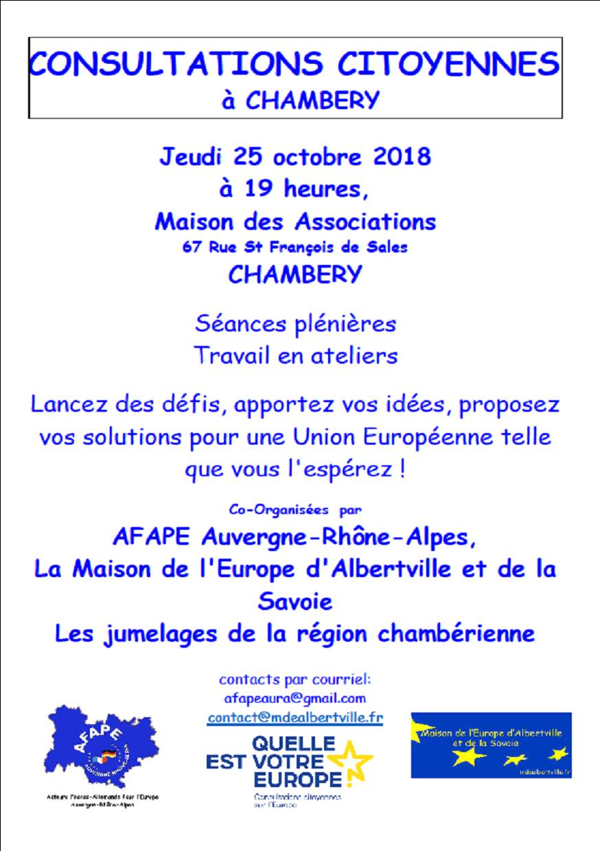 Consultations Chambéry